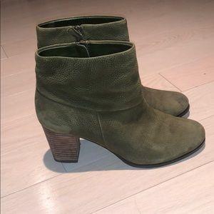 Cole Haan Ankle Green Heel Booties